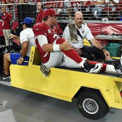Carson Palmer knee injury: Latest on NFL Week 10's biggest injuries, including Branden Albert and Brandon Marshall
