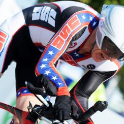Todd Key at the 2014 Para-cycling World Championships in Greenville, S.C.