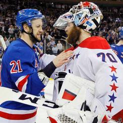 Rangers center Derek Stepan (21) and Capitals goalie Braden Holtby (70) are just two of the NHL players possibly headed for arbitration this summer.
