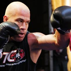 TIto Ortiz shown here training for UFC 148 in 2012.