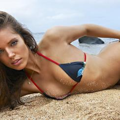 Emily Didonato in Kauai, SI Swimsuit 2015