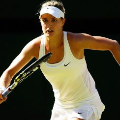 Eugenie Bouchard made the semifinals of the year's first two majors and now the final at Wimbledon.