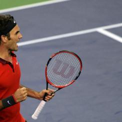 Roger Federer at the Shanghai Masters 1000