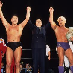 Antonio Inoki and Ric Flair