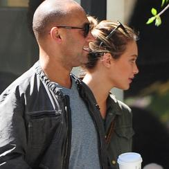 Derek Jeter and Hannah Davis in NYC, 2013