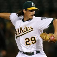 Jeff Samardzija, acquired in a trade with the Athletics, is just one of many pieces picked up this winter by the White Sox.