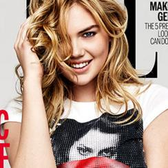 Kate Upton for ELLE UK