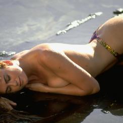 Kathy Ireland in Oahu, SI Swimsuit 1993