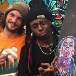 Torey Pudwill and Lil Wayne