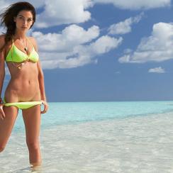 Lily Aldridge, SI Swimsuit 2014