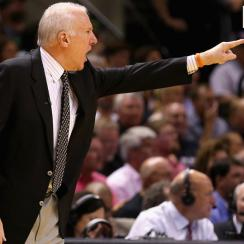 Popovich has five titles on his resume, all won with Tim Duncan from 1999-2014.