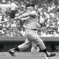 Mickey Mantle becomes the highest paid baseball player when he signs a $75,000 contract for the 1961 season.