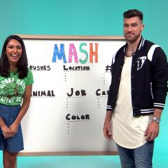 Mustard Minute: Travis Kelce predicts his future by playing MASH game IMG