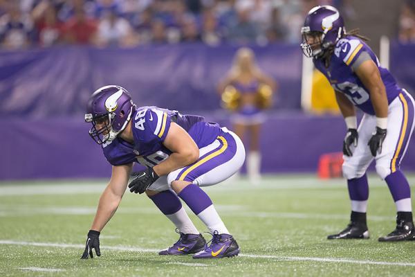nfl YOUTH Minnesota Vikings Zach Line Jerseys