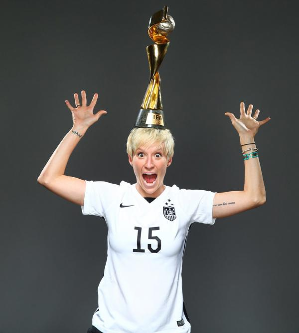Why Megan Rapinoe's awesome cover wound up on the cutting room floor