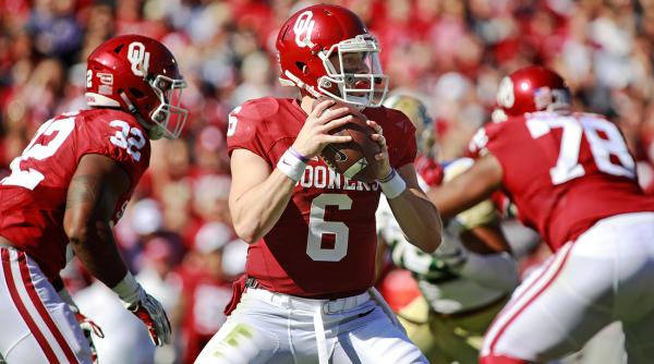 Heisman Trophy Predictions Oklahoma 39 S Baker Mayfield Climbs Further