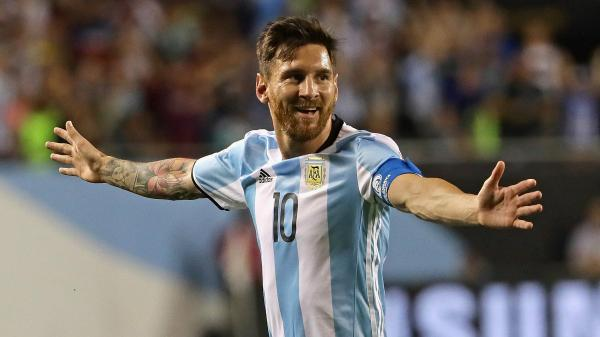 Lionel Messi against Chile