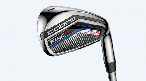 Cobra King F7 One Length irons.