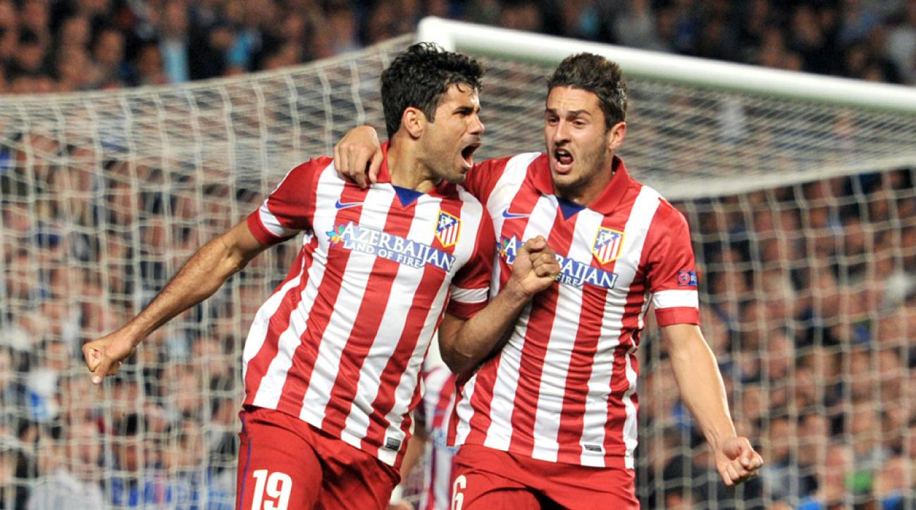 Atletico Madrid and Spain forward Diego Costa, left, believes he is good to go for the World Cup after suffering a recent hamstring tear.