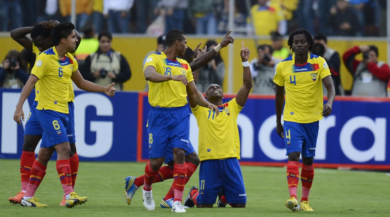 """The late Christian """"Chucho"""" Benitez (11), is a source of sadness and inspiration for Ecuador's World Cup team."""