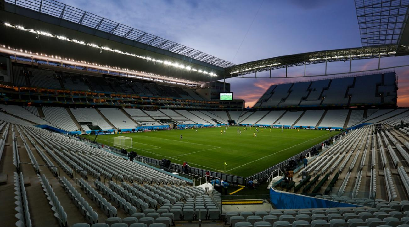 The Arena de Sao Paulo will host the opening game of the World Cup between Brazil and Croatia.