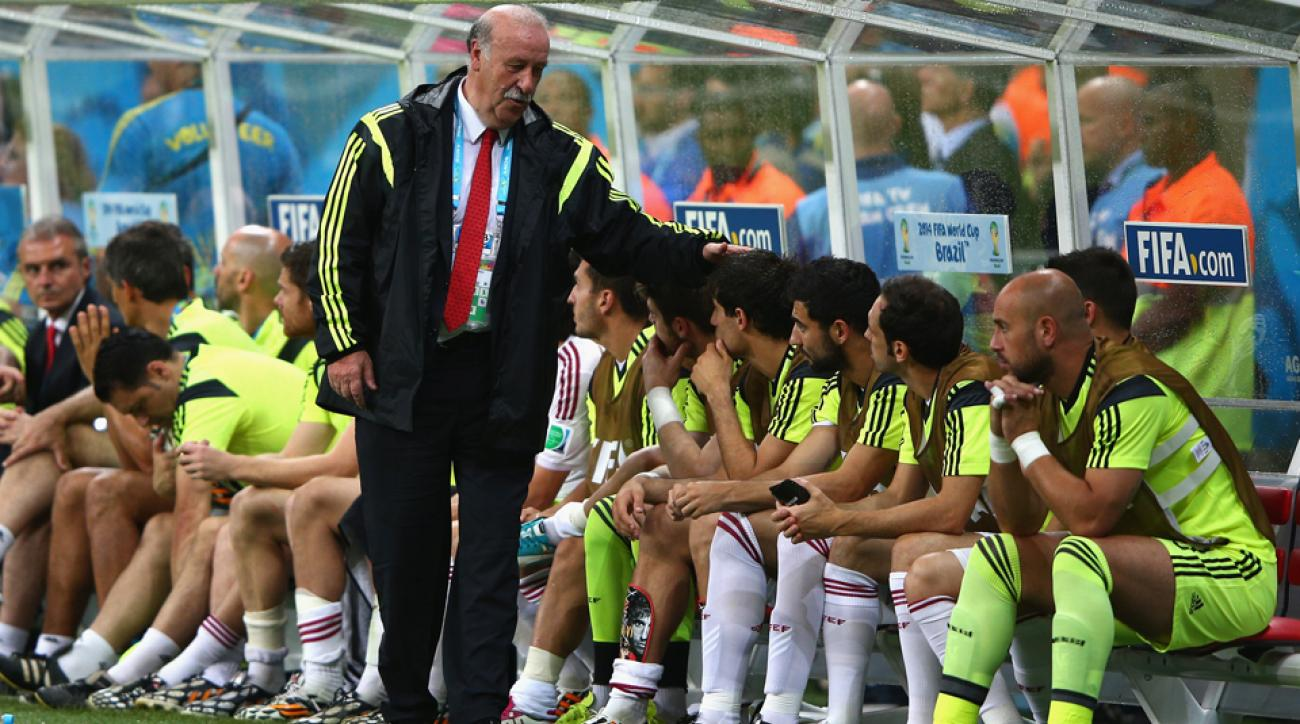 Spain manager Vicente del Bosque is expected to turn to his bench for lineup changes in a must-have game against Chile.