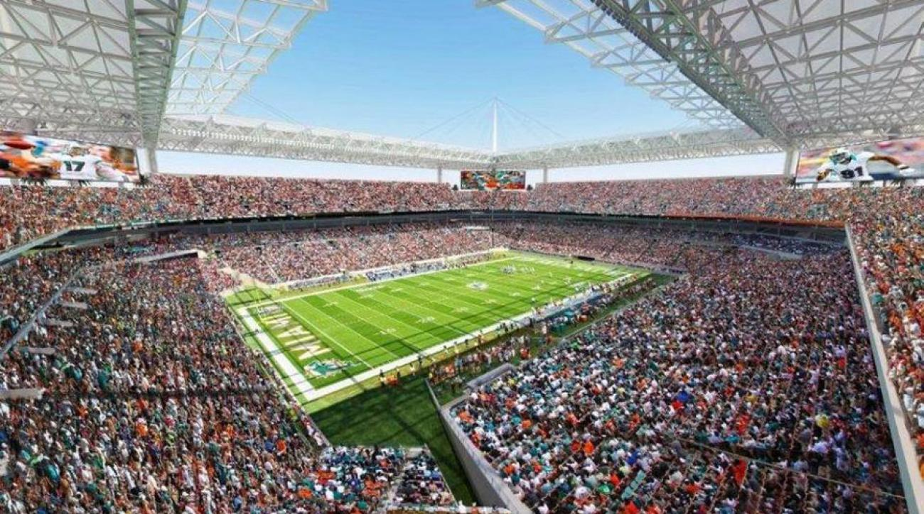 Sun Life Stadium will undergo renovations to attract more major events.