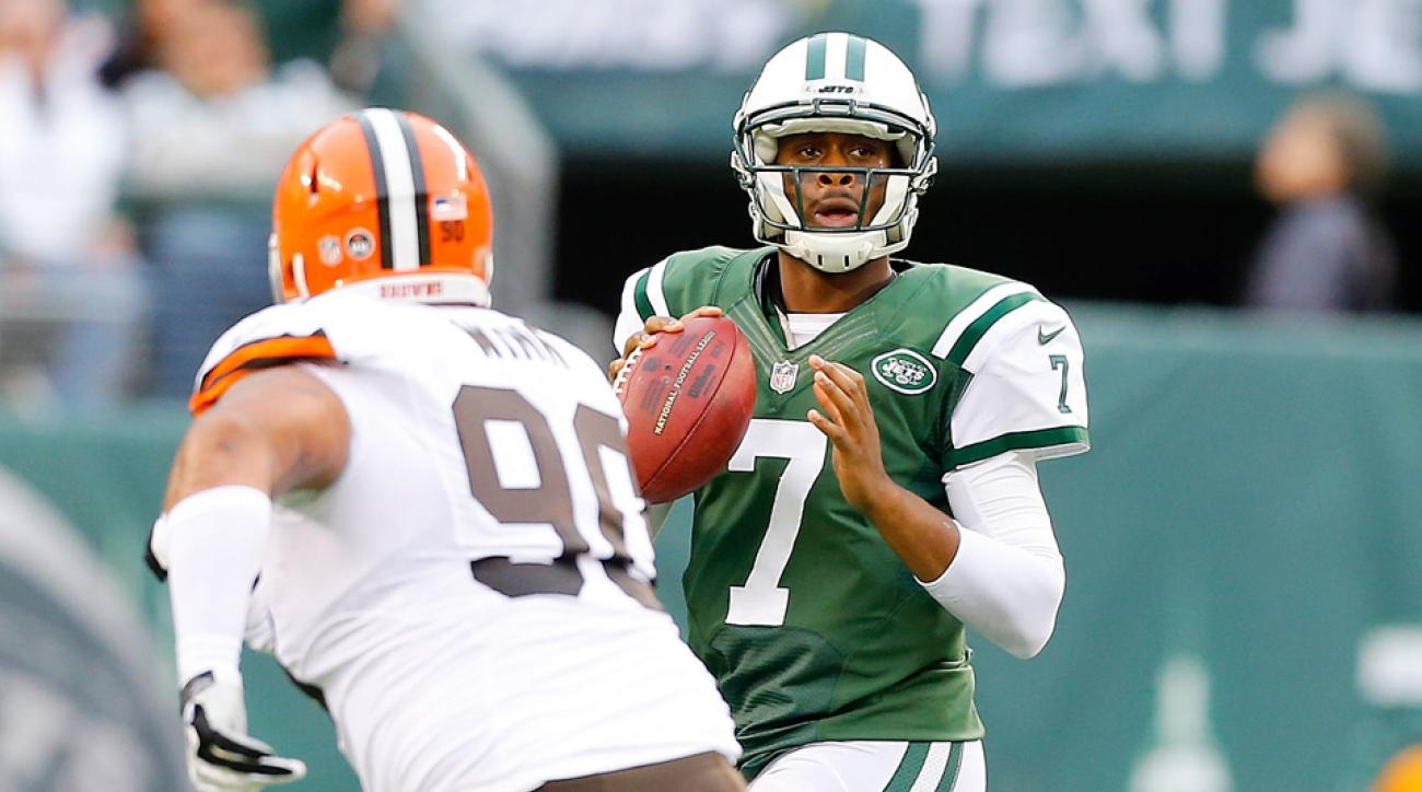 Geno Smith could fall down the depth chart if he doesn't develop his game.