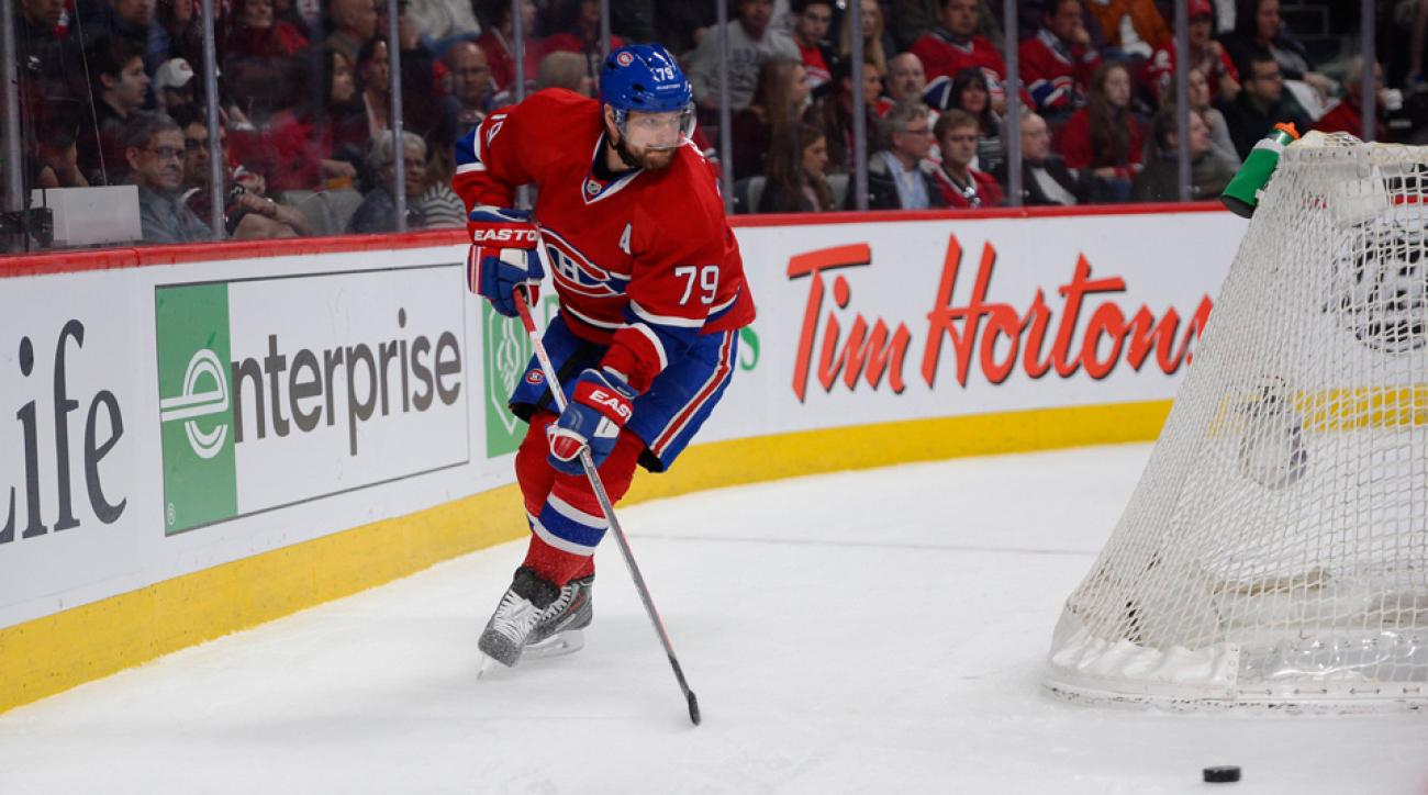With his new contract, Andrei Markov will stay with the Habs for another three years.