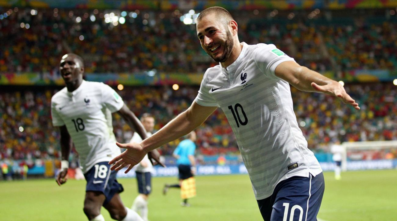 Led by Real Madrid forward Karim Benzema (10), France has the looks of a team primed for a deep World Cup run.