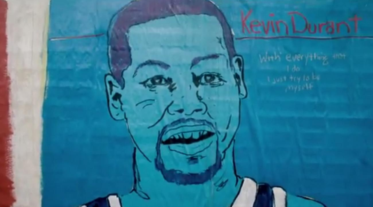 """Thunder forward Kevin Durant is the """"baddest"""" in his latest Nike commercial."""
