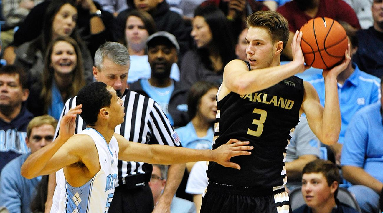 Travis Bader broke J.J. Redick's NCAA record for three-pointers, but he isn't considered a first-round pick -- and he may not be drafted at all.