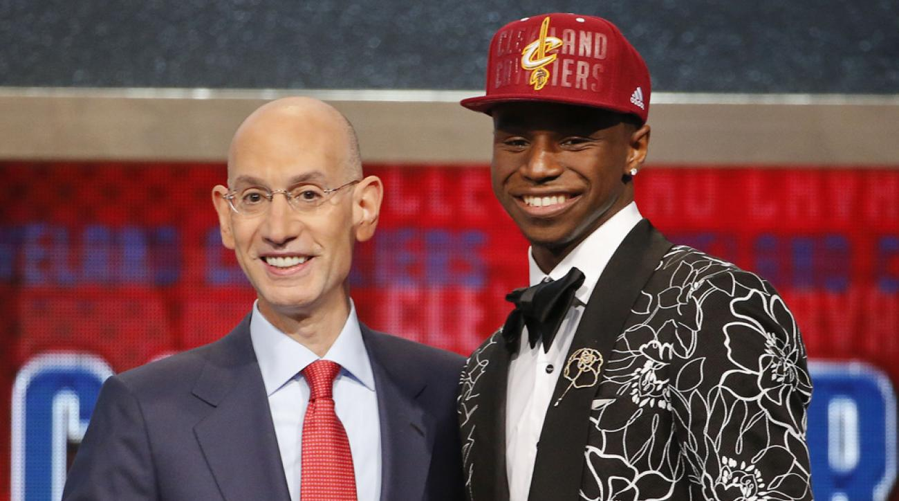 Cleveland took Kansas freshman forward Andrew Wiggins with the first overall pick in the 2014 NBA draft.