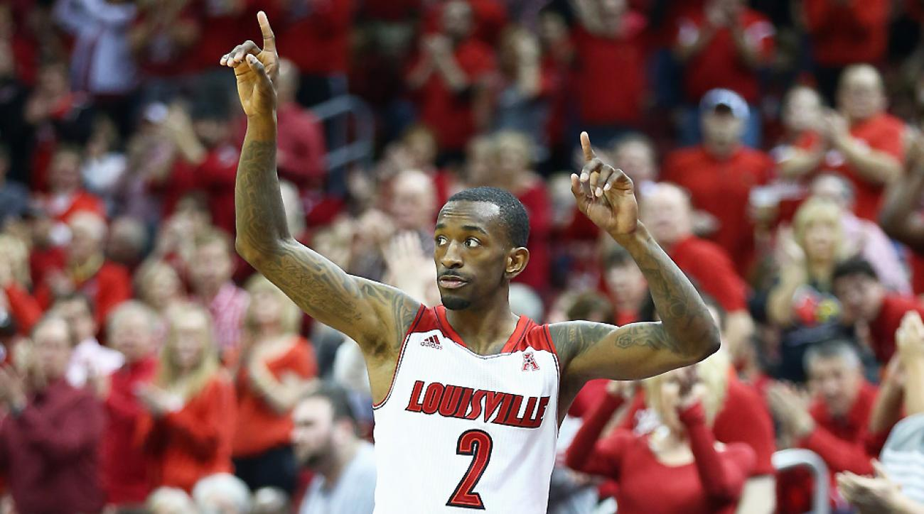 Russ Smith is projected as a mid-second-round pick, but his value could be much higher as a backup point guard in the NBA.