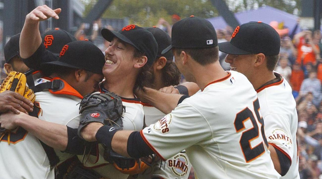 Tim Lincecum of the San Francisco Giants threw his second career no-hitter Wednesday night, but it was his support for the U.S. soccer team that stole the show.