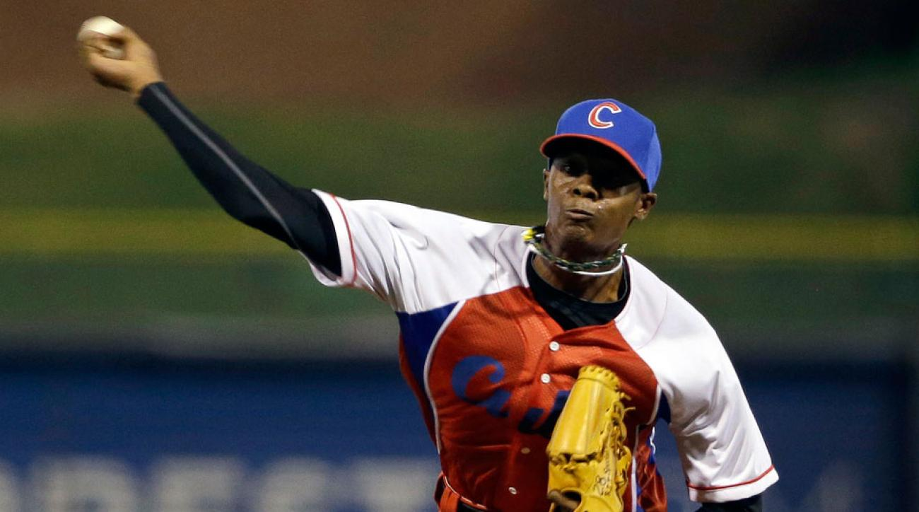The Reds hope they've struck Cuban gold again with right-hander Raicel Iglesias.