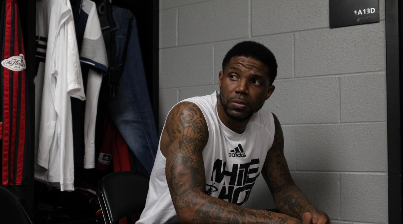 Udonis Haslem has the same agent representation as Chris Bosh and Dwyane Wade.