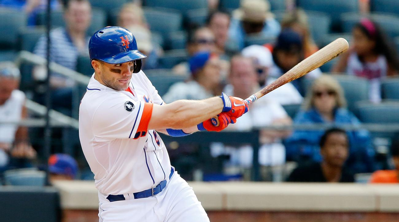 David Wright is slugging .385 during a current 10-game hitting streak before being scratched.