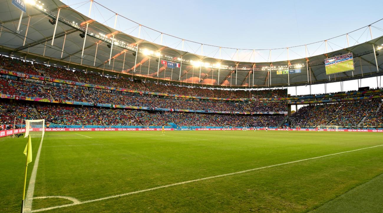 Arena Fonte Nova in Salvador will host the USA's round of 16 clash against Belgium.