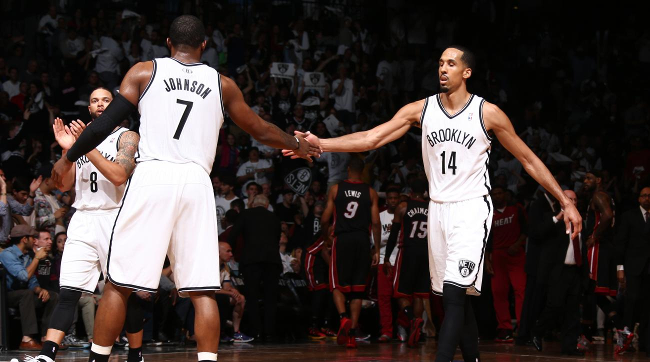 Shaun Livingston averaged eight points, 3.2 rebounds and 3.2 assists in 26 minutes per game last season for Brooklyn.