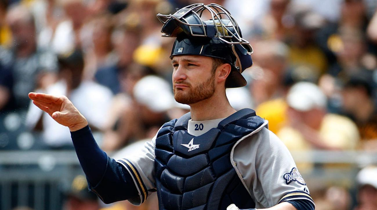 Jonathan Lucroy has been the NL's first-half MVP, but his catching duties could have a negative impact on his bat in the second half.