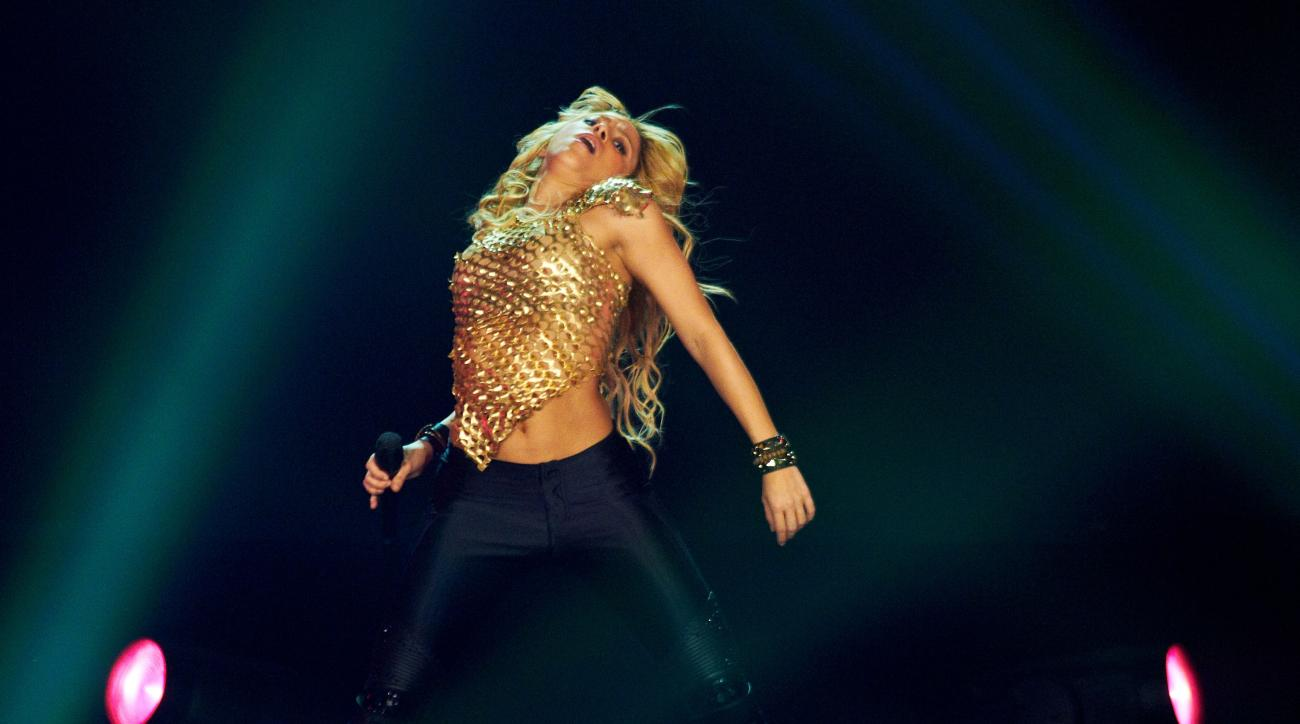Shakira performed in 2006 in Germany, in 2010 in South Africa and will again this year in Brazil.