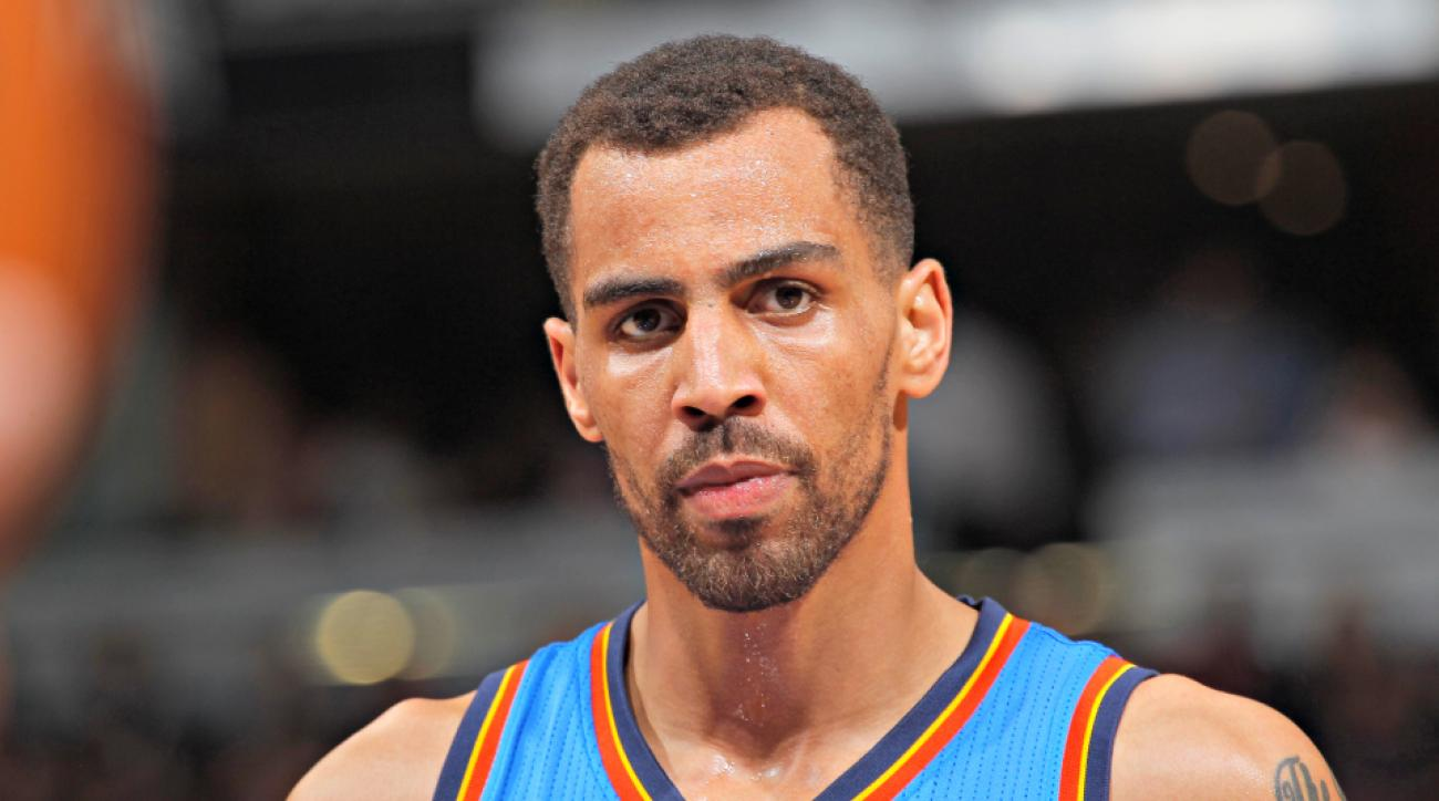Thabo Sefolosha joins the Hawks after falling out of favor with the Thunder.