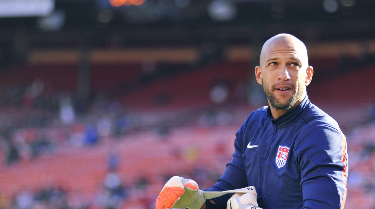 Tim Howard had a World Cup record 16 saves in a 2-1 loss to Belgium.