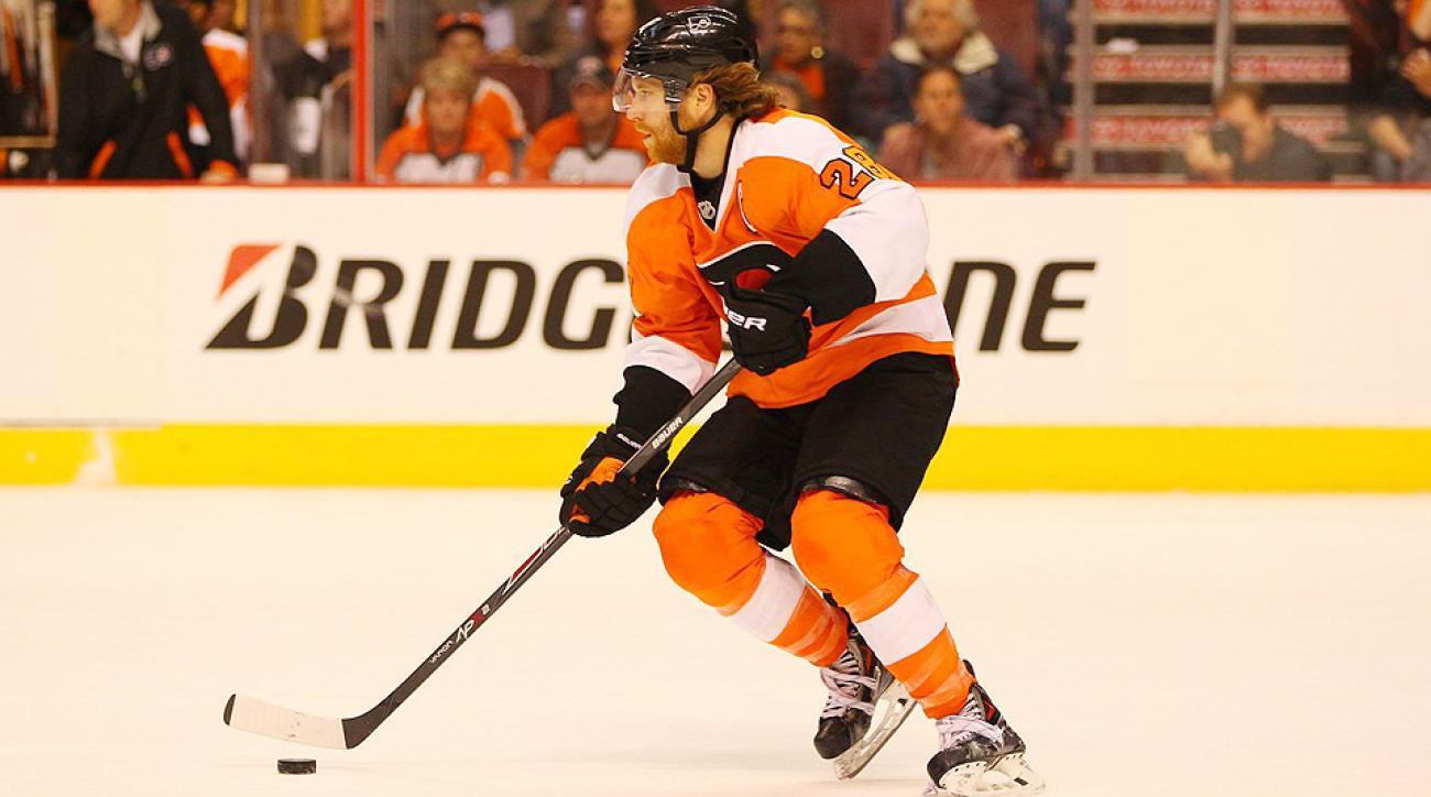 Philadelphia Flyers captain Claude Giroux issued a statement Thursday night regarding his arrest outside an Ottawa bar following Canada Day festivities.