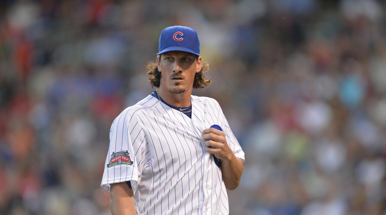 In a clear sign the A's are going for it, Jeff Samardzija (pictured) and Jason Hammel are headed to Oakland.