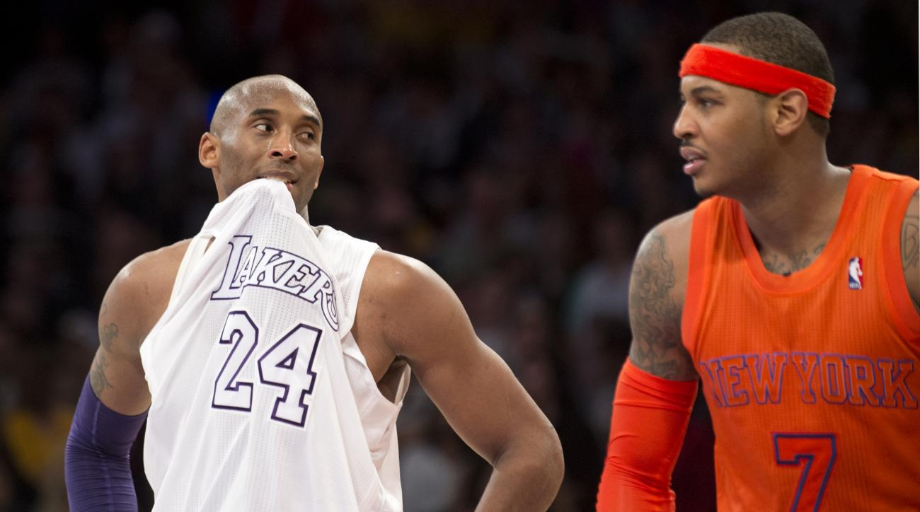 The Lakers can offer Carmelo Anthony a four-year, $97 million deal.