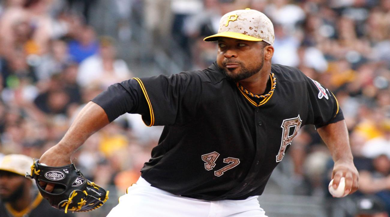 Francisco Liriano has been cleared to return to the Pittsburgh Pirates' starting rotation