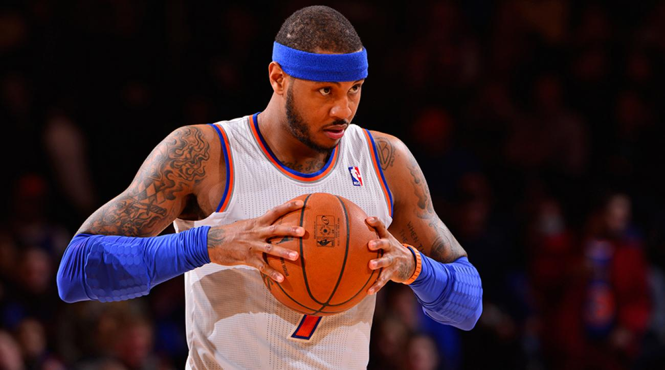Carmelo Anthony could be close to making a decision about his future