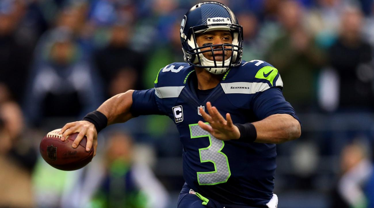 Seattle Seahawks training camp Russell Wilson
